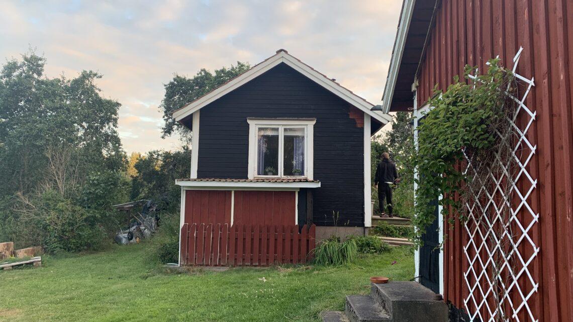 Målat Hampus hus 👍